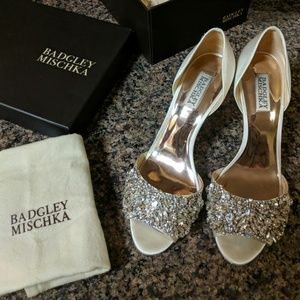 Badgley Mischka Shoes - Bagdley Mischka Hansen Crystal Embellished Sandal